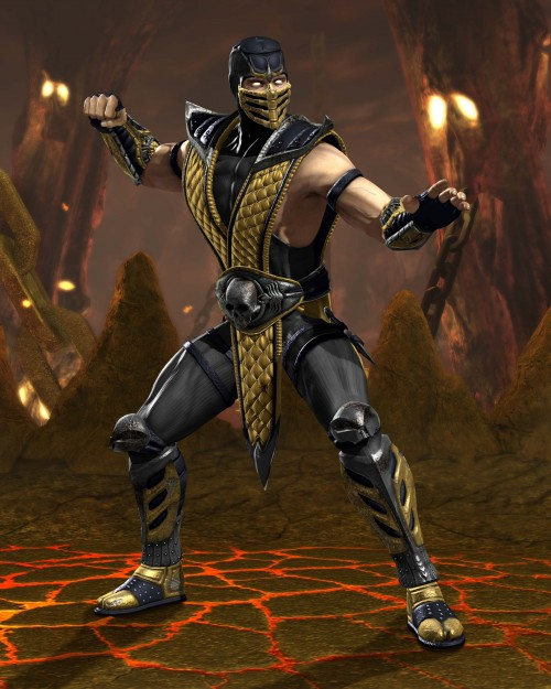 scorpion dc 500x625 Scorpion Render Mortal Kombat vs DC Gaming CCG