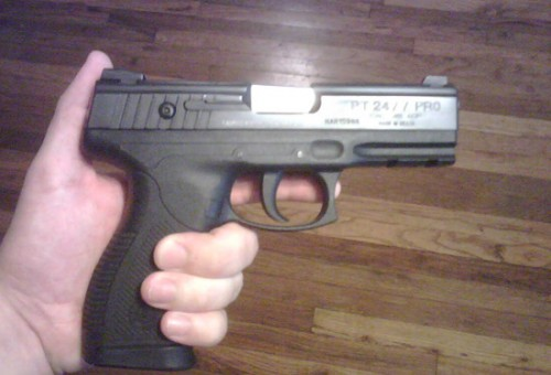 my gun 500x340 Practical Home Protection Weapons