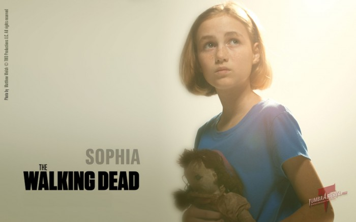 walking dead sophia 700x437 Walking Dead Zombies Wallpaper Television