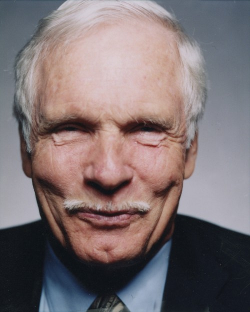 ted turner color 2 500x623 Ted Turners Smirk Television Humor