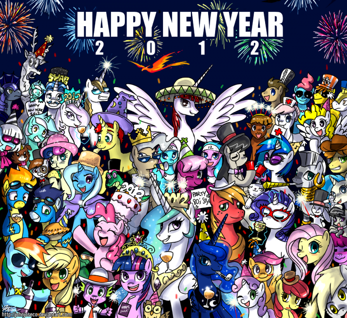 01 01 1012 by johnjoseco d4l0qt0 700x642 happy 2012 my little ponies