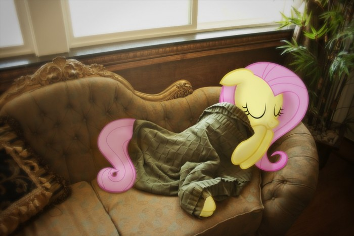 4Adda 700x466 flutershy sleeps my little ponies