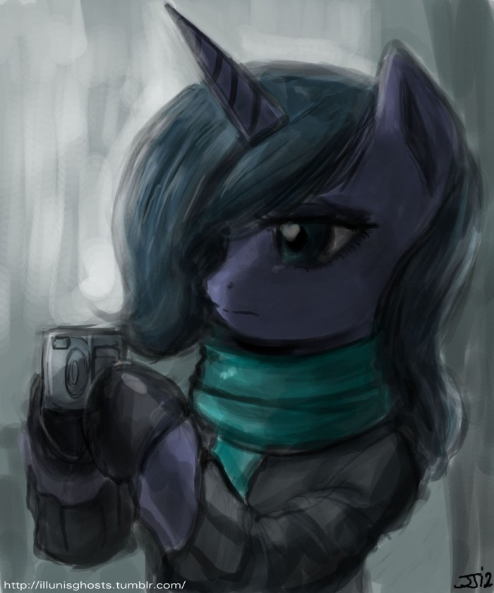 crookedtrees new blog fan art by johnjoseco d4l9c6m 700x840 luna in a sweater my little ponies
