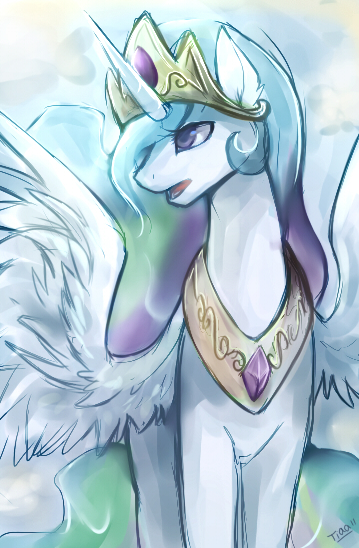 princess celestia by tiaamaito d45v724 celestia by tiaamaito my little ponies