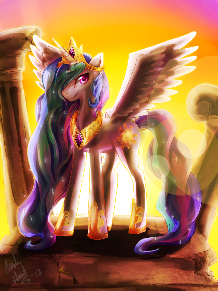 in her glory by hungrychickens d4kwufx 700x933 in her glory my little ponies