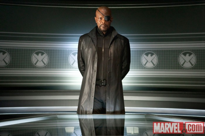 samuel l jackson nick fury avengers1 700x466 Avengers Movie