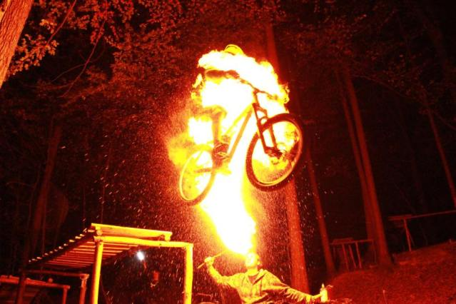 fwoosh Ghost Rider cosplay