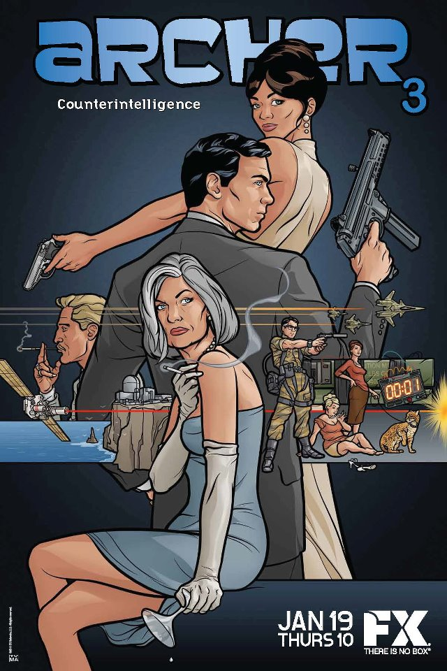Archer season 3 Television Awesome Things