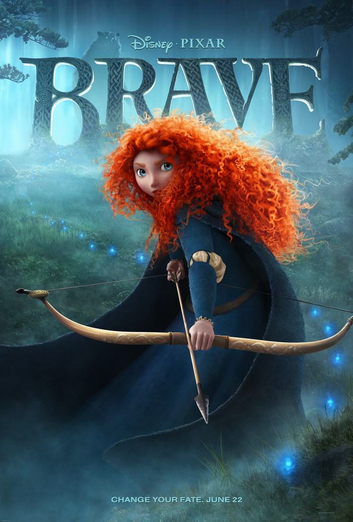 Brave Apple Poster 700x1036 Brave Poster Movies Movie posters