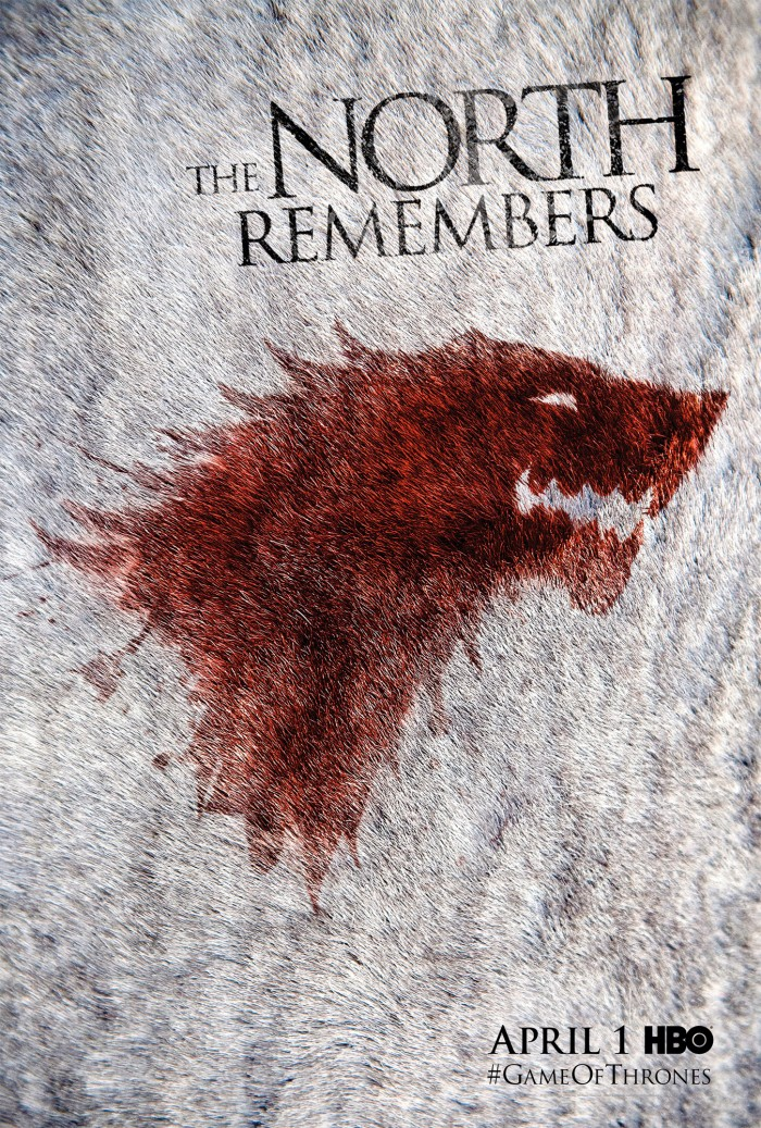 s2 fan poster stark 700x1037 The North Remembers