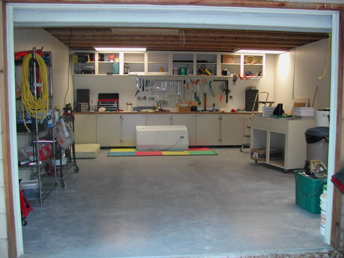 garage mostly done 700x525 God is an invisible Dragon in my garage wtf Religion