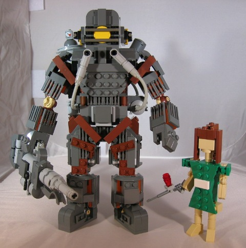 lego big daddy Lego Big Daddy With Little Sister Legos Gaming