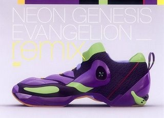 evashoe evangelion shoes wtf Humor
