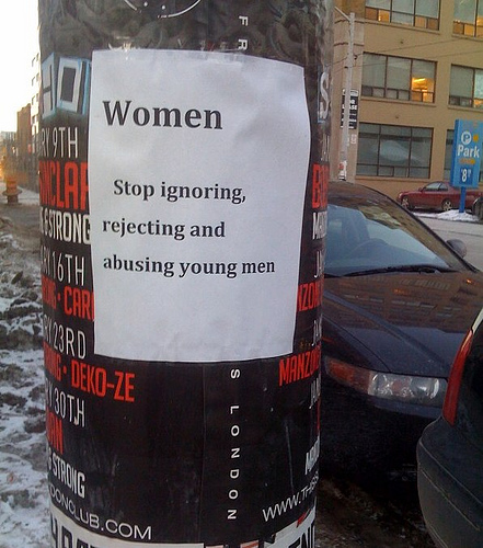 3270664242 1f62cb5bf0 Women Stop Abusing Men! wtf Humor
