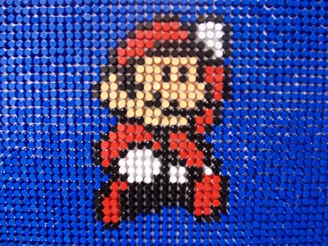 pushpi9 Push pin Mario art. Gaming