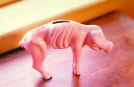 financial crisis piggy bank Recession Piggy Bank RPB