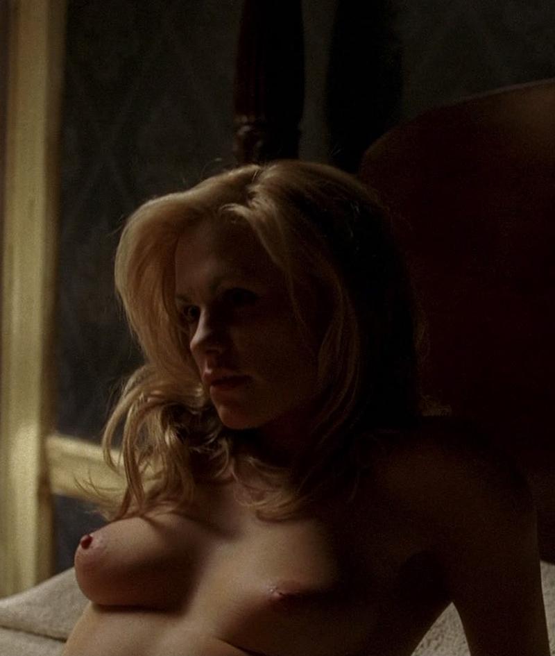 Anna paquin sweet ass in transparent panties