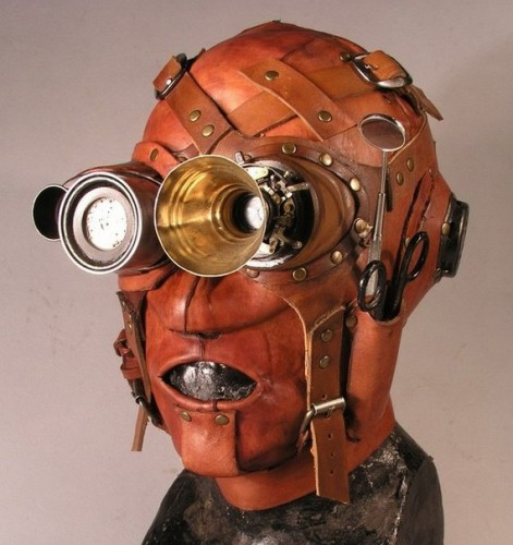 rusteampunkmask2 471x500 steampunk masks wtf Gas Masks