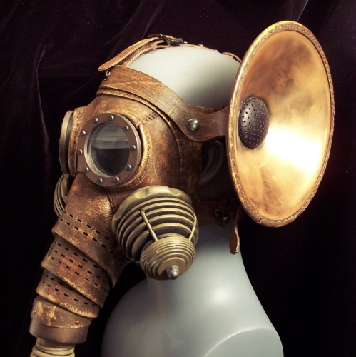 0808 Pachydermos angle close 499x500 Steam Punk Elaphantine Gas Mask Gas Masks