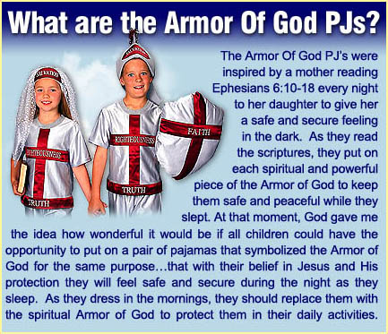 armor of god pjs Armor of God PJs wtf Religion
